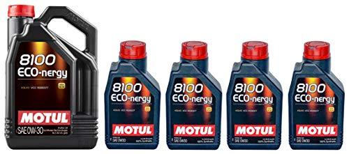 Motul 8100 Eco-nergy 0W30 volledig synthetische motorolie Volvo VCC95200377, 9 liter