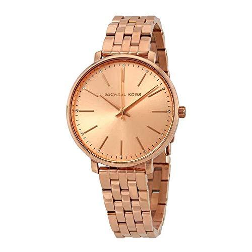 Michael Kors Reloj Analogico para Mujer de Cuarzo con Correa en Acero Inoxidable MK3897