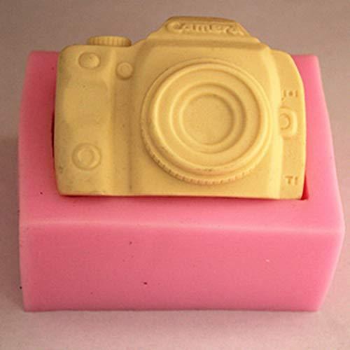 YIYAO Moules À Gâteaux pour Appareil Photo Moule À Gâteau en Silicone pour Décoration De Gâteaux Outils De Pâtisserie De Cuisson
