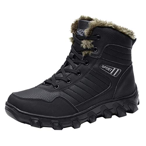 Schneeschuhe Outdoor Sports Cotton Boots Herren Winter Plus Velvet Warm High Top Boots