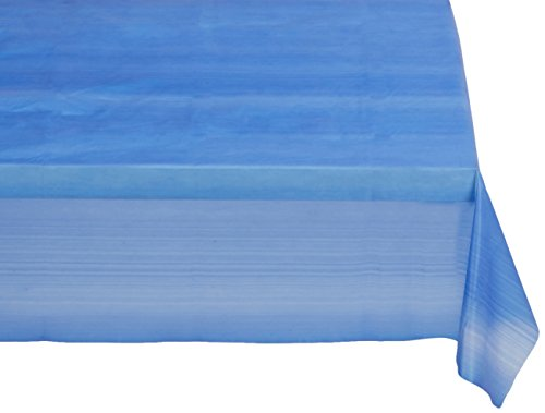 Heavy Duty Plastic Tablecover (Assorted Colors, 54
