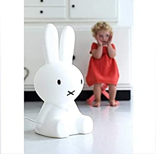 Mr. Maria Miffy Floor Lamp Rabbit Shape Decorative Lamp LED Bedside Night Light Suitable for Kindergarten Children's Room Floor Lighting