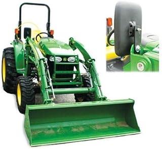 "Tractor Loader Mirror Assembly w/Brackets, LH or RH, 12"" x 7"" Mirror"