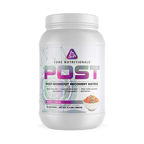 Core Nutritionals Platinum Post Post-Workout Recovery Matrix 20 Servings (Fruity Cereal)