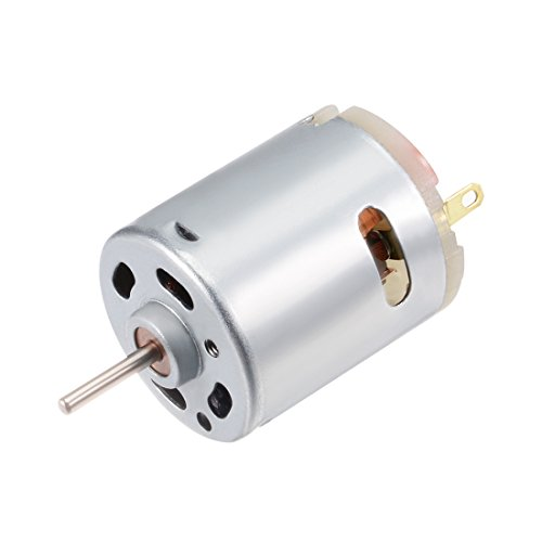 uxcell Micro Motor DC 12V 11200RPM High Speed Motor for DIY Model Remote Control
