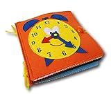 Quiet Book Montessori Spielzeug - Stoffbuch - Motorikspielzeug für Kleinkind - Reisespielzeug - Lernspielzeug ab 2 Jahren - ein tolles Geschenk für Mädchen und Jungen