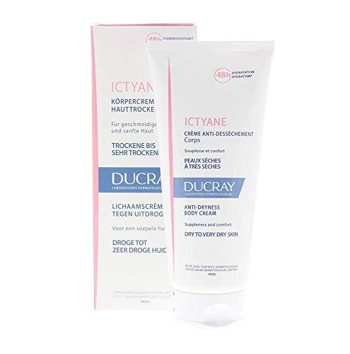 Ducray Ictyane Crème Anti-Dessèchement Corps Trockene/Sehr Trockene Haut 200Ml