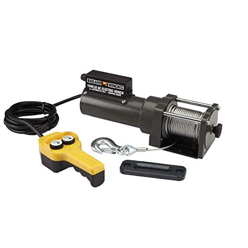 1500 lb. Capacity 120 Volt AC Electric Winch by USATNM