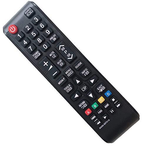 EAESE Mando Samsung TV AA59-00741A Reemplazo Mando a Distancia para Samsung LCD LED Smart TV PS43F4500AW PS51F4500AM UE32J5000 UE32M4002AK UE39F5000AK UE39F5000AW UE40F5000 UE40J5100 UE46F5020AK