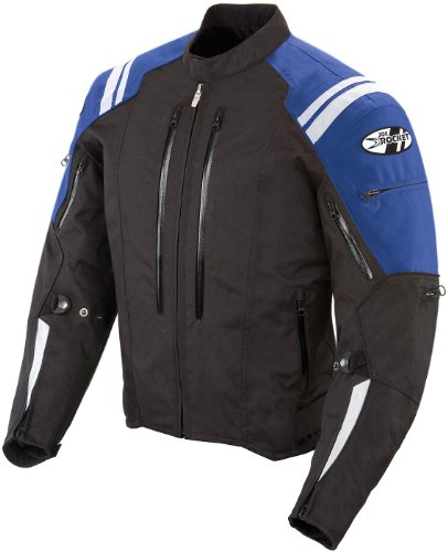 Joe Rocket 1051-5203 Atomic 4.0 Men's Riding Jacket (Blue, Medium)