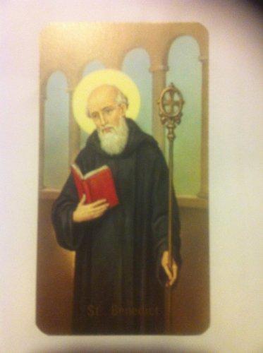 Imagen San Benito----Juego de 2imágenes--- Image Simple Face-imagen religiosa-ECJ.difuso