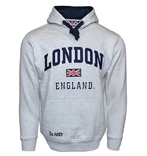 British Heritage Brands LE129GN - Sudadera con Capucha,...