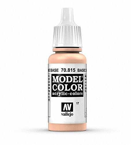 Vallejo Model Color Pintura Acrílica, Beige (Basic Skin Tone), 17 ml