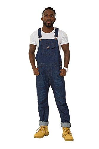 USKEES Jesse slabbroek Skinny – blauw indigo slim fit jeans broek heren Jesseindigo