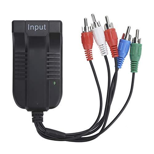 Mxzzand Convertidor YPBPR a HDMI con Cable de Datos Convertidor de Audio...