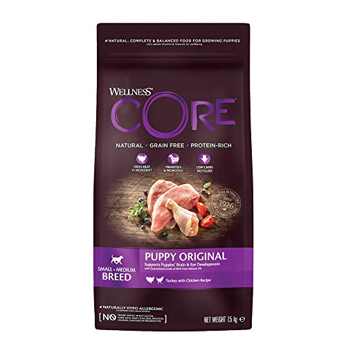 bester Test von getreidefreies hundefutter trocken Wernescore Welpen / Think for Puppies / Getreidefrei / Hoher Fleischgehalt / Türkei…