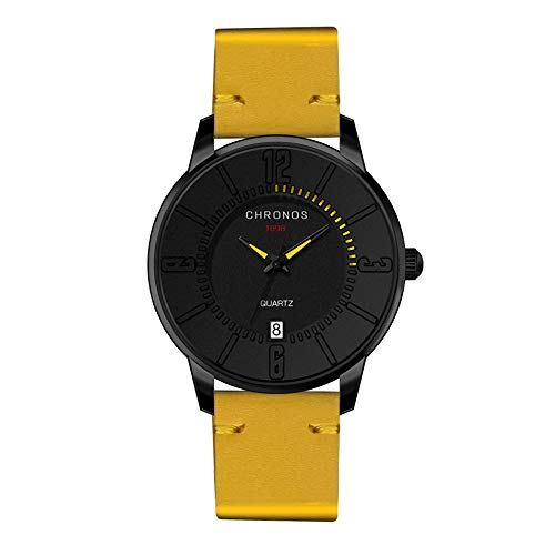 Relojes amarillos de pulsera Ultrafino