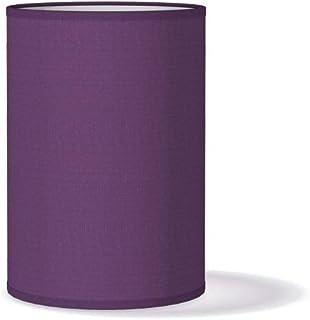 Améthyste violet en tissu paons plafond lumière Fryetts Lampe Abat-jour fait main