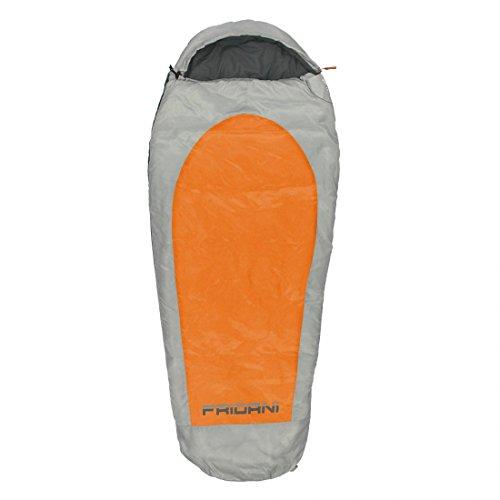FRIDANI EO 180 K Short – Mummy Sac de Couchage, 180 x 75/50, 1350 g, de 11 °C (ext), 3 °C (Lim), 7 °C (Comf)