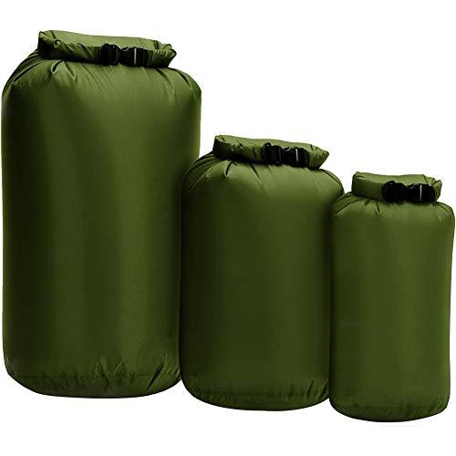 Kidoll Pack Waterproof Storage Bag, Swim Bag for Rafting Kayaking Floating Sailing Canoing Boating, Water Resistance Bag,8L 40L 70L