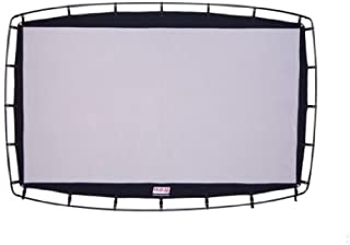 Camp Chef Outdoor Entertainment Gear 92 inch, 16:9 Ultra-Sharp, Silver-Infused Projector Screen with Durable, Easy Setup Steel Stand. Supports 4K Ultra HD and 3D. Front and Rear Projection Capable.