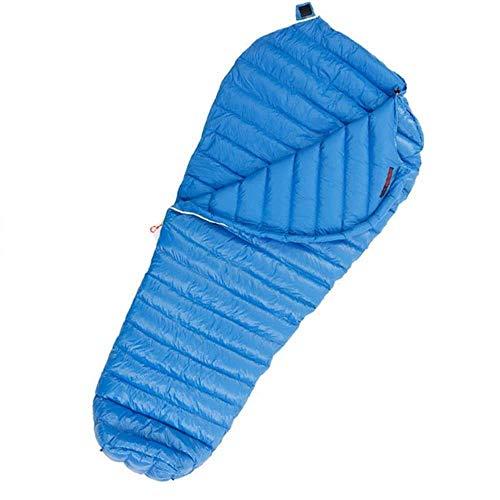 Camping en invierno for mantener el calor portátil de senderismo interior y exterior ligera adulto corpulento resistente al agua (color: azul, tamaño: 200x86cm), tamaño: 200x86cm, Color: Negro LIULI