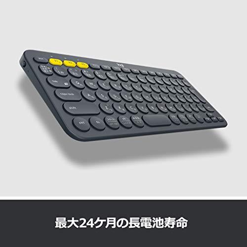 417ONcTjDeL-iCleverのBluetoothキーボード「IC-BK13 maruko」を購入したのレビュー!なかなか良い感じ