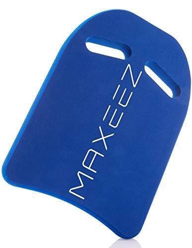 MAXEEZ® Schwimmbrett für Kinder und Erwachsene aus recyceltem Eva | Schwimmhilfe zur Verbesserung des Schwimmstils |