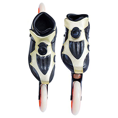 UYBAG Game Rollers Skates Speed Skate Movement Adult Inline Wheel Speed Skating Shoes Racing Shoes Adult Men and Women Skates Racing Exercise Best Choice,37
