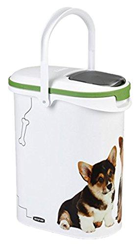 Curver 03904-P70-00 Pet-Futter Container 4 kg, 19.2 x 29.5 x 34.8 cm, 10 L