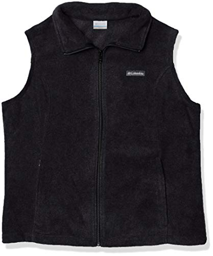 Columbia Women's Benton Springs Soft Fleece Vest, Black, X-Large