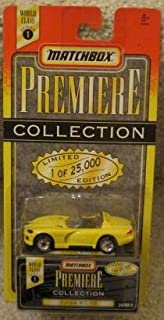Matchbox - Premiere Collection - World Class Series 1 - YELLOW VIPER RT/10 - Limited Edition (25,000) Replica