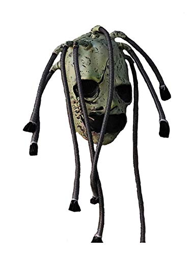 lembrd Slipknot Maske - Halloween Horror Latex Maske - Grimassenbaum Monster Maske Realistische Cosplay Requisiten für Halloween