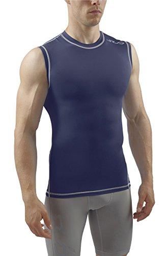 Sub Sports, Dual, compressieshirt voor heren, functioneel ondergoed, basislaag, mouwloos
