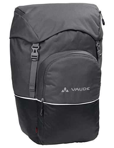 Vaude Road Master Front–Taschen Fahrrad, Black/Anthracite, One Size