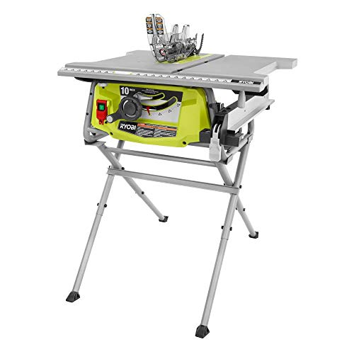 RYOBI RTS12 15 Amp 10 in. Table Saw with Folding Stand