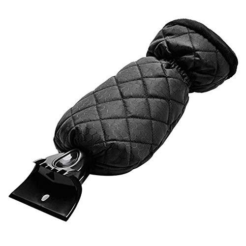 Miuphro アイススクレーパー 雪かき スノースクレーパー スノーブラシ 氷かき 除雪器 除雪手袋 住宅窓冷蔵庫も適用 操作簡単