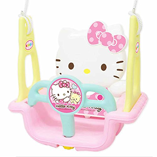Why Should You Buy Hello Kitty Folding Toddler Indoor & Outdoor Swing Set & Free Gift (Key Ring)
