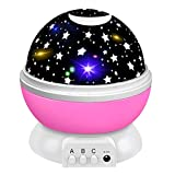 Tesoky Toys for 1-10 Year Old Girls, Night Light Projector for Kids Toddler Toys Age 1-10 Star Night Light for Kids...