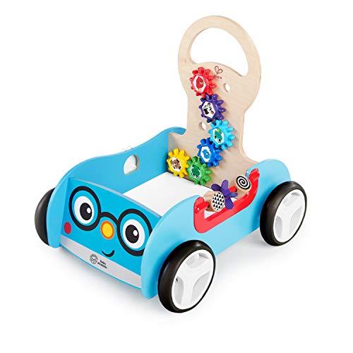 Baby Einstein, Hape, Trotteur/Chariot d'Activité en Bois Discovery Buggy, à Partir de 12 Mois