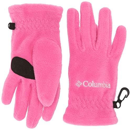 Columbia Kids Fast Trek Glove, Pink Ice, Large
