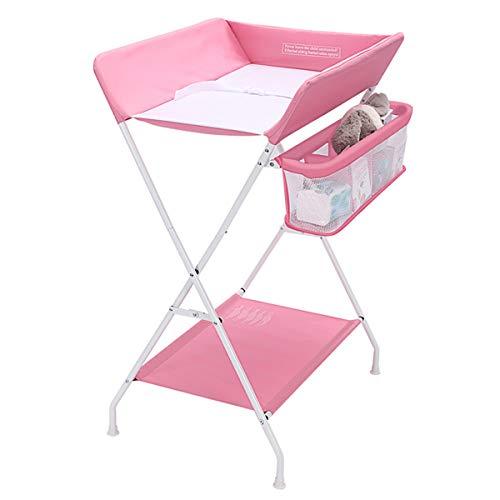 Faltbarer Wickeltisch für Babys, Neugeborenes Massagetisch, Multi-Funktions-Baby-Touch-Tisch, tragbarer Kinderwindel-Wickeltisch (sicher und stabil, starke Belastung, faltbar)