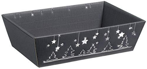 """10 Stück Präsentkorb, Geschenkkorb, Weihnachtskorb""""Weihnachtsglanz"""" (mittel)"""
