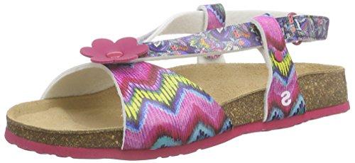 DesigualShoes_Bio 3 - Sandalias con Correa Niñas, Color Rosa, Talla 31 EU