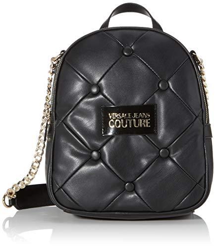 Versace Jeans Bag, Borsa a Tracolla Donna, Nero (Nero), 10x26x21 cm (W x H x L)