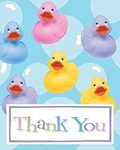 Rubber Ducky Thank You Notes