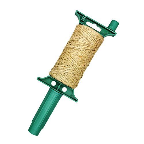 Jute touw tuin jute knutselsnoer 100 m paksnoer binddraad planten koord