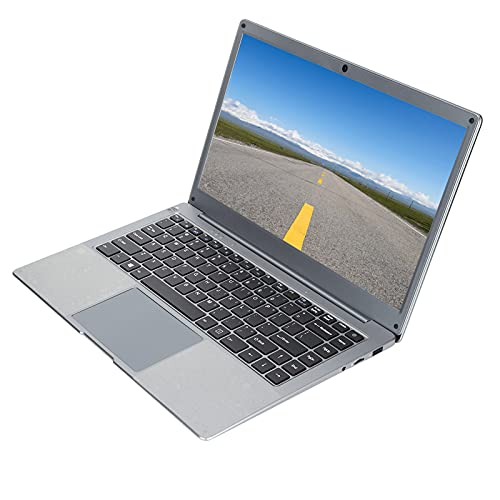 Dpofirs Jumper Laptop 12GB RAM + 128GB ROM con 14 Pulgadas FHD1920 x 1080 Ultrabook Intel N4020 Procesador Windows 10, Soporte SATA3 M.2 SSD y 256GB SSD Capacidad de Almacenamiento(EU)