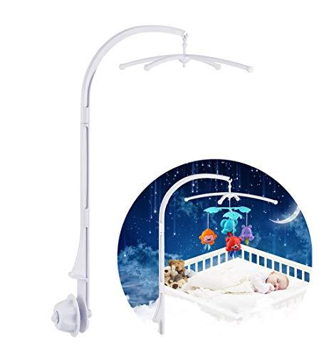 Mobile Halterung, Mobile Halter Babymobile für babys, Mobile Gestänge für babybett/kinderbett für hängenden Spielzeug und Puppen (ohne Spielzeug)