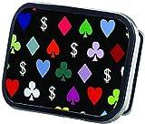 Marcas de póquer, Dólar & Poker símbolos de alta gama de marcas - hebilla de cinturón en